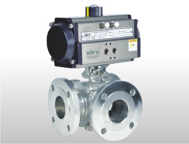 CW Series C 3 Way Ball Valve