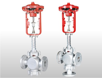 Pneumatic Diaphragm Modulating High Temperature Control Valve