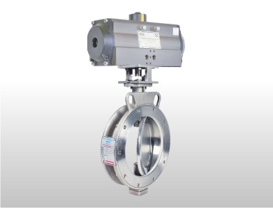 Metal Seated Spherical Disc Valve