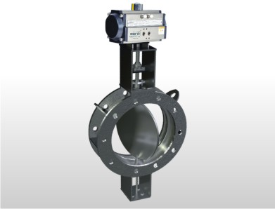 Flange Fabricated Damper Valve