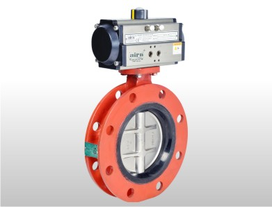 Wafer Type Double Flange Butterfly Valve