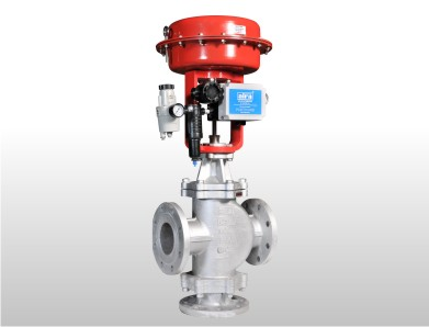 Pneumatic Diaphragm Modulating Low Temperature Control Valve