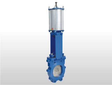 Cylinder Operated Knife Edge Gate Valve