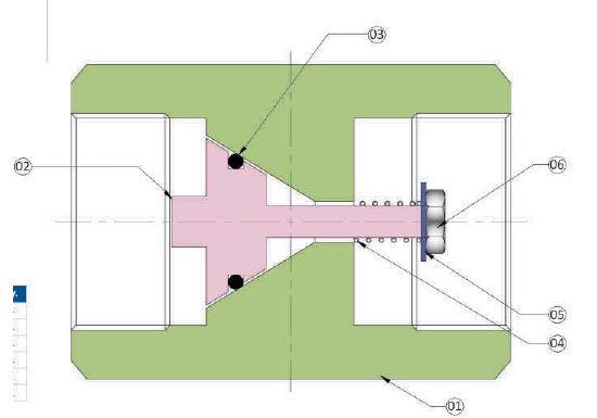 non return valve drawing