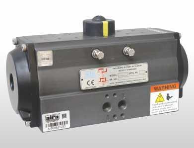 Double Acting Pneumatic Actuator Manufacturer in India