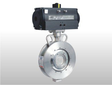 double flanged butterfly valve, Double Eccentric Butterfly Valve