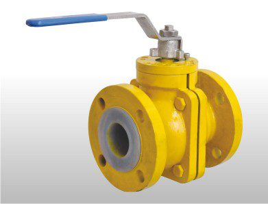 FEP / PFA Lined Ball Valve