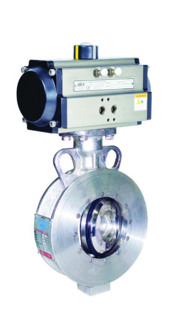 off set disc butterlfy valve