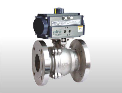 2 Piece Ball Valve Flanged End