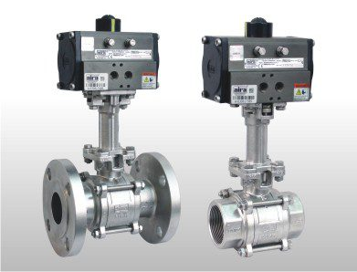 3 piece extended shaft ball valve