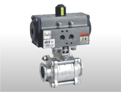 triclover 2 way ball valve