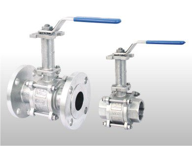 Extended Shaft 2 way ball valve