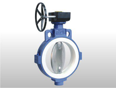 Replaceable Muffler Butterfly Valve