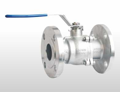 2 Piece Design 2 Way Floating Ball Valve