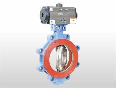 Triple offset lug type butterfly valve