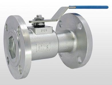 single piece ball valve